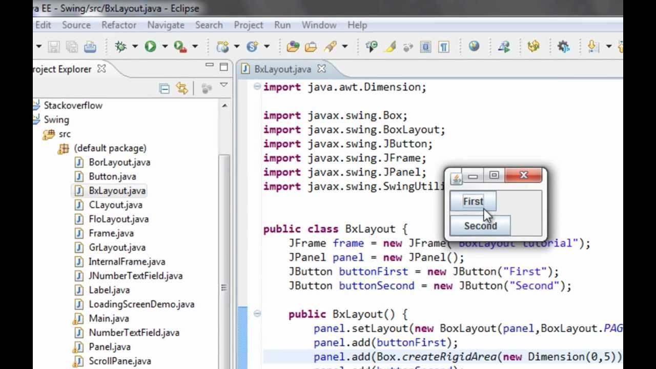 Swing Controls In Java Netbeans Pdf download
