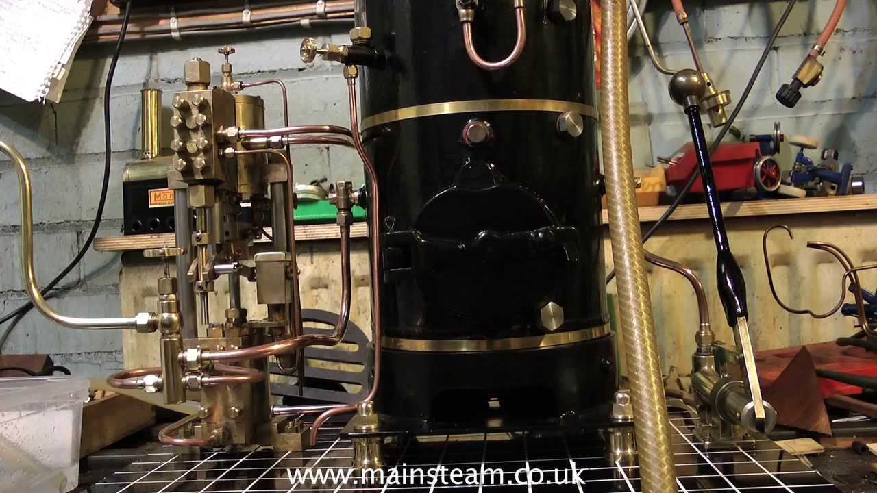 LARGE COAL FIRED MODEL STEAM BOILER PLANT WITH WEIR PUMP - YouTube