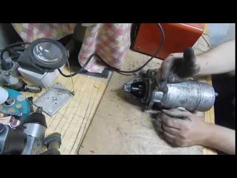 Cмотреть видео техническое обслуживание и ремонт стартера автомобиля газель