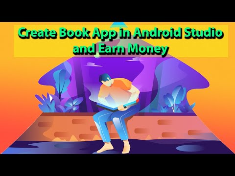 How To Make Book App In Android Studio | How To Make An Android App | Create Android App From Pdf