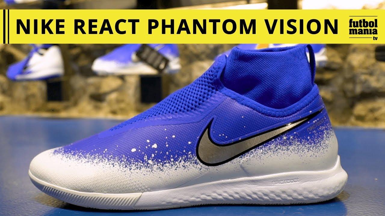 ventas especiales profesional mejor calificado salida de fábrica Nike React Phantom Vision Pro DF IC - YouTube