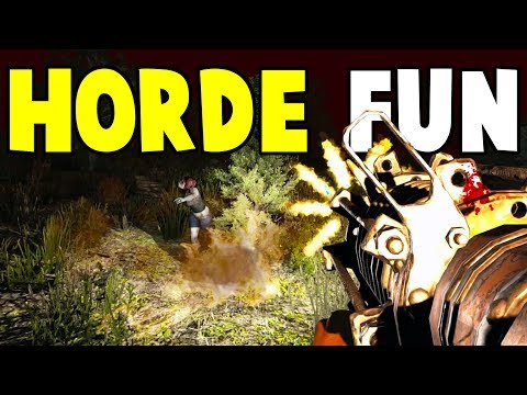 Horde Fun | Starvation Mod | 7 Days To Die Alpha 16 Let's Play Gameplay PC | E12