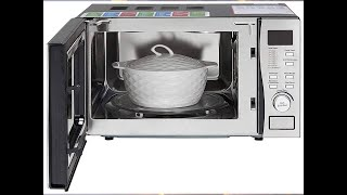 Godrej 19 L Convection Microwave Oven GMX 519 CP1, White Rose Large