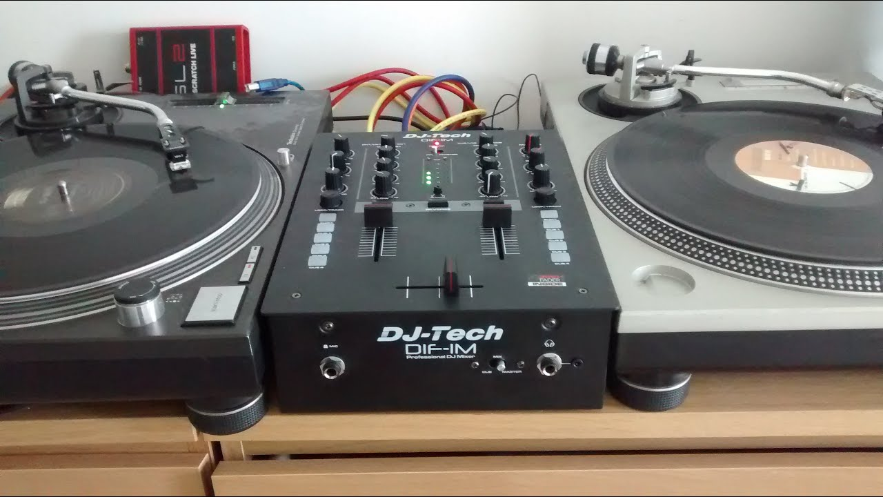DJ Tech DIF-1S vs Rane TTM 57sl -