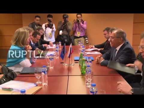 Philippines: Lavrov and Mogherini talk Syria, Ukraine and bilateral relations at ASEAN