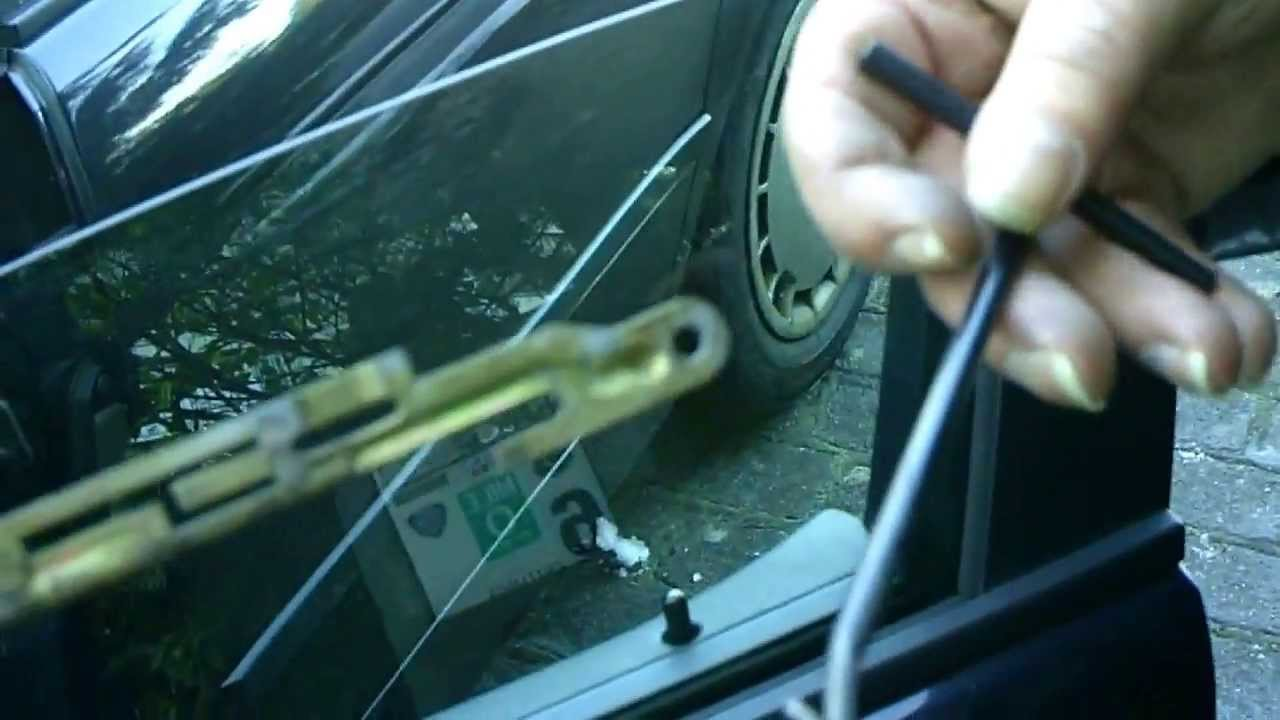 Replace Exterior Door Handle BMW e39 Türgriff wechseln