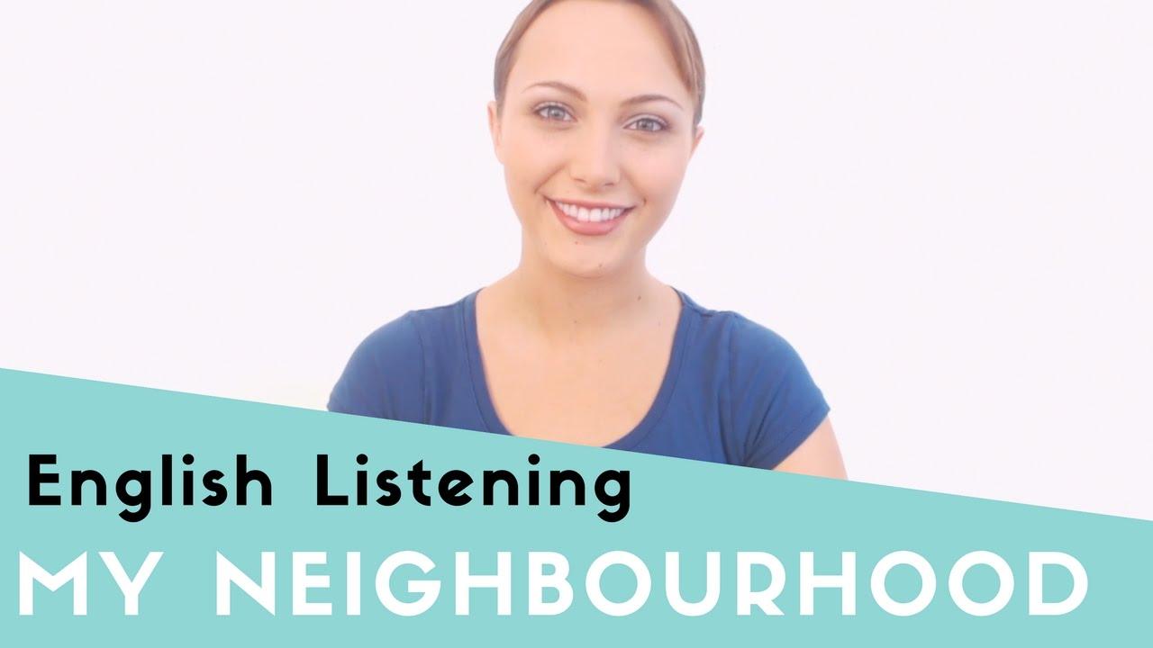 essay describing your neighborhood