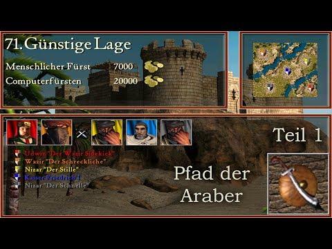 M71 - Günstige Lage - Teil 1 - Araber - Stronghold Crusader | Let's Play (German)