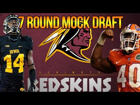 7 ROUND WASHINGTON REDSKINS MOCK DRAFT | BIG ON D + COUSINS REPLACEMENT | OFFSEASON GRADES