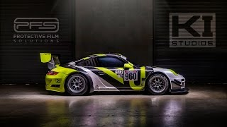 Avery Dennison Porsche GT3 Cup Car Race Livery Wrap