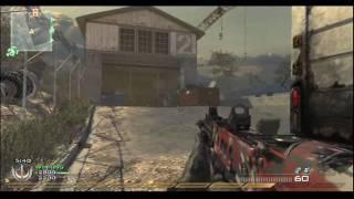 mw2 modern warfare 2 online multiplayer gameplay team deathmatch scrapyard ps3