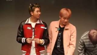 Namjin flirting each other in front of public