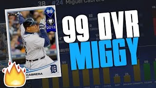 99 DIAMOND MIGUEL CABRERA IS A MONSTER! BATTLE ROYALE RUN | MLB THE SHOW 17 DIAMOND DYNASTY