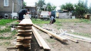 Видео о строительстве дома своими руками (Выпуск 2)(Видео подготовлено для http://You-Family.com/ - метка