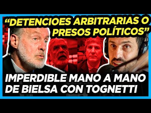 """RAFAEL BIELSA DEBATE con TOGNETTI """"Si son detenciones arbitrarias, son políticas"""""""
