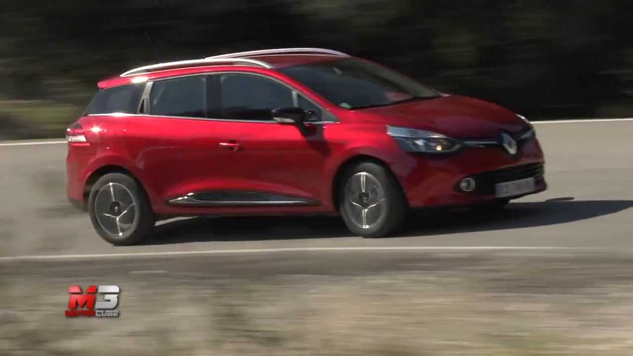 renault clio sporter 2013 test drive youtube. Black Bedroom Furniture Sets. Home Design Ideas