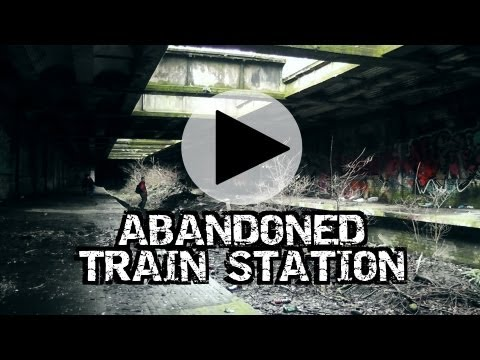 Abandoned Underground Train Station Glasgow Botanic Gardens HD - Urbex Scotland Railway
