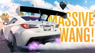 MASSIVE WING ROCKET BUNNY LEXUS RC F?! | Forza Horizon 3 Let's Play #12