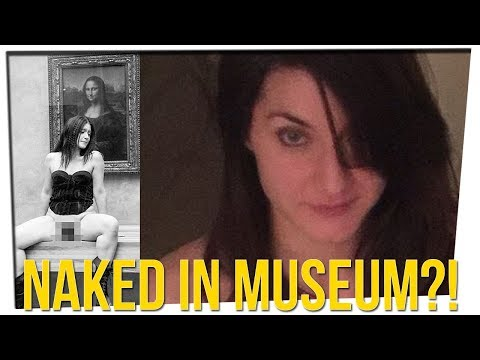 Performance Artist Arrested After Exposing Herself in The Louvre?!