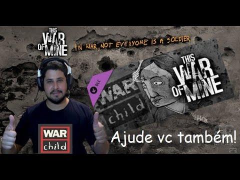 """This War Of Mine DLC  PT-BR # Nova DLC """"War Child."""" Ajudando as crianças carentes."""