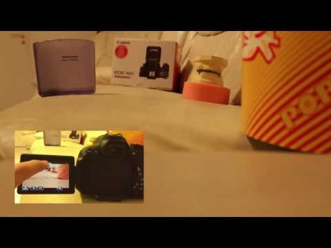 Canon EOS 700D / Rebel T5i Touch Focus Test Video ( Clip RAW out of Camera ) 18-55mm STM