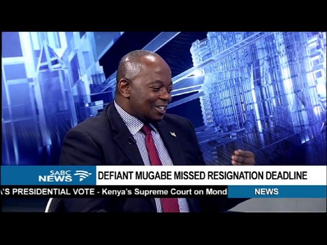 DISCUSSION: Mugabe's impeachment