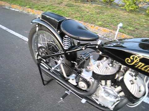1941 racing Sport Scout cold start & warm up