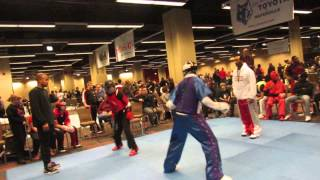Yusuf Muldrow competes at Warrior's Cup 50th Anniversary Martial Arts Tournament - Part 2