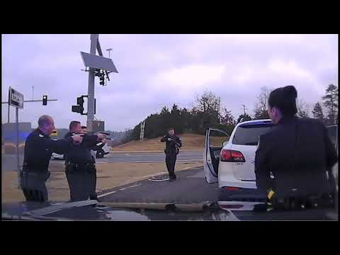 Ashley King - Dashcam footage from situation that closed part of I430 before Christmas