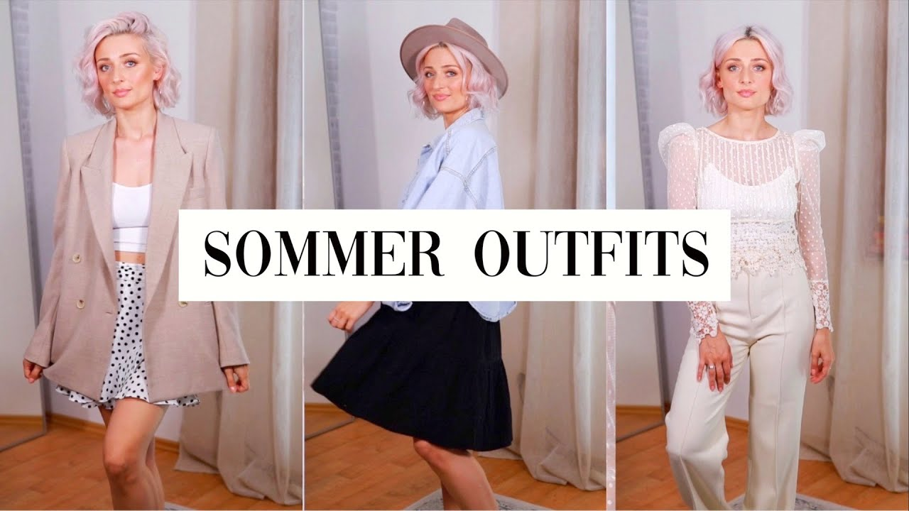 meine garderobe für den sommer  olesjaswelt  youtube