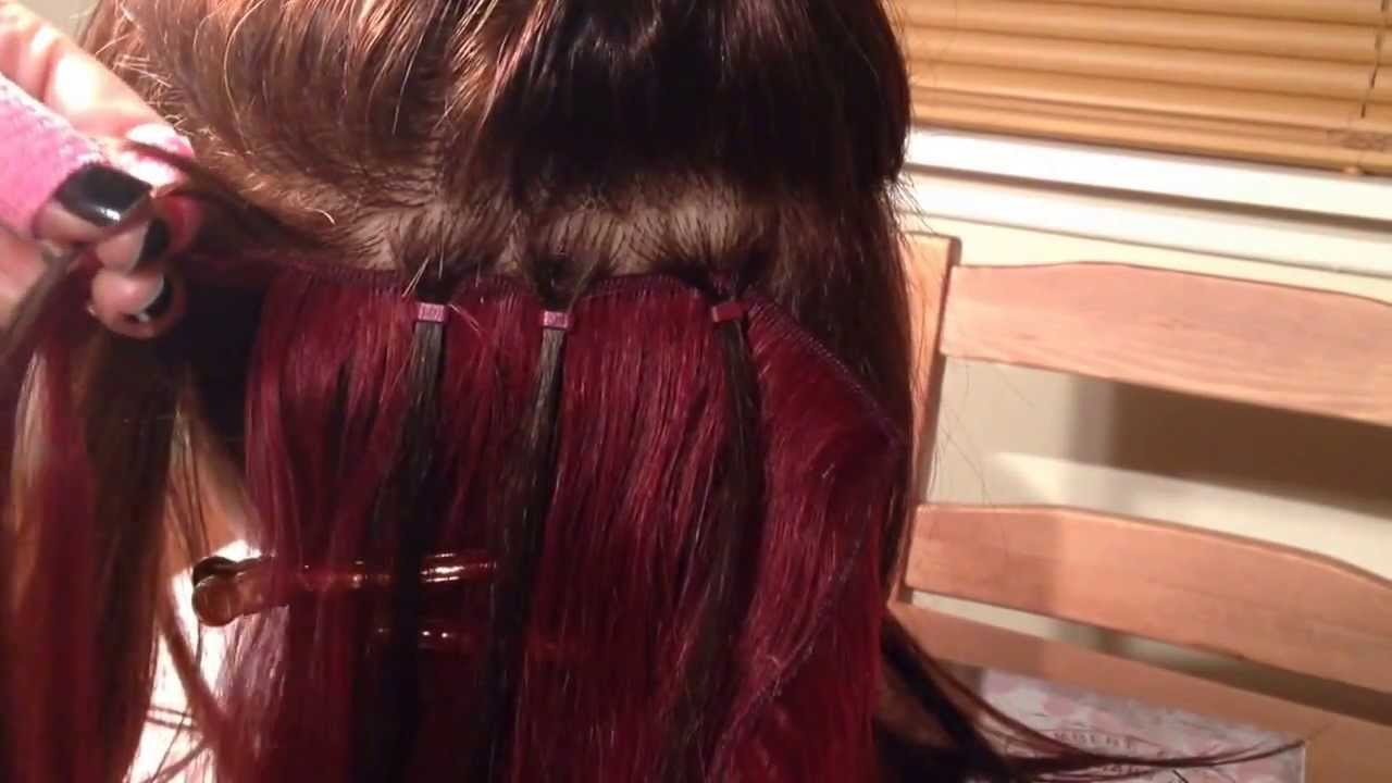 Micro ring weave demonstrated by jem hair extensions scotland micro ring weave demonstrated by jem hair extensions scotland youtube pmusecretfo Choice Image