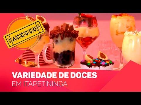 Variedade de doces em Itapetininga - TV SOROCABA/SBT