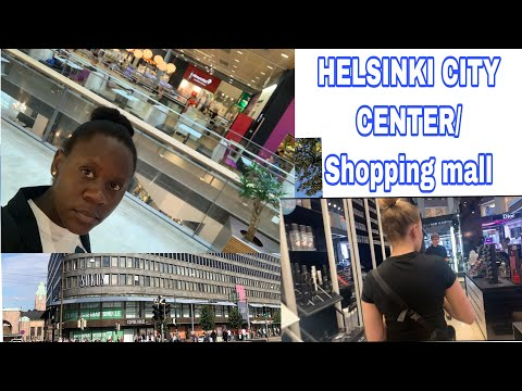 HELSINKI CITY CENTER/SHOPPING MALL. come shopping with me. #livinginfinland #shoppinginfinland#sello