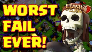 The Worst Attacks I Ever Got / Clash of Clans!!