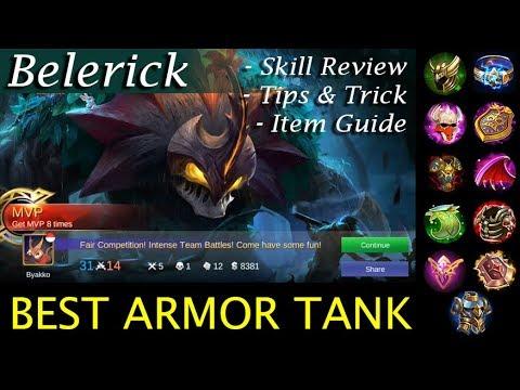 Belerick (NEW TANK) Guide, Item Build, Gameplay, Tips & Trick