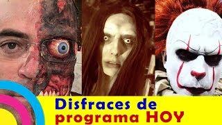 TERRORIFICOS DISFRACES del programa HOY para HALLOWEEN / noticias zhows