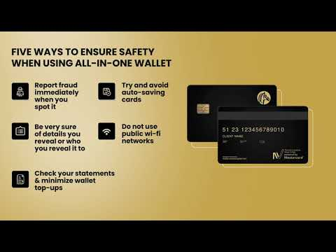 5 Ways to ensure safety using Suisse Bank's All-In-One Wallet