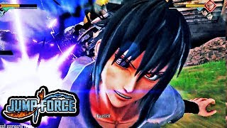NEW JUMP Force DEMO Gameplay - Zoro Vs Sasuke Gameplay 1080p HD (PS4 / XBOX ONE / PC)