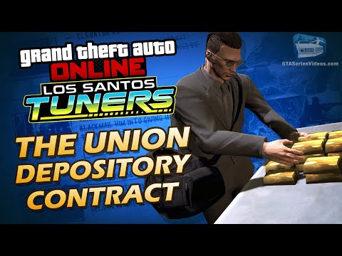 GTA Online Heist - The Union Depository Contract [Solo]