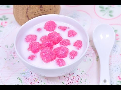 Sago Ball in Coconut Milk (Thai Dessert) – สาคูบัวลอย