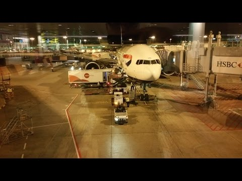 British Airways BA16: Singapore Changi SIN ✈ London Heathrow LHR