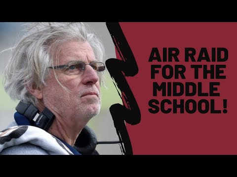 Air Raid Passing Concepts for Middle School