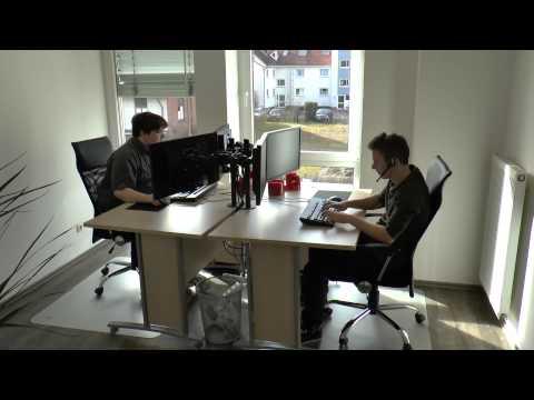 Ein Samstag bei Host-Unlimited.de :: Das neue Büro ist fertig