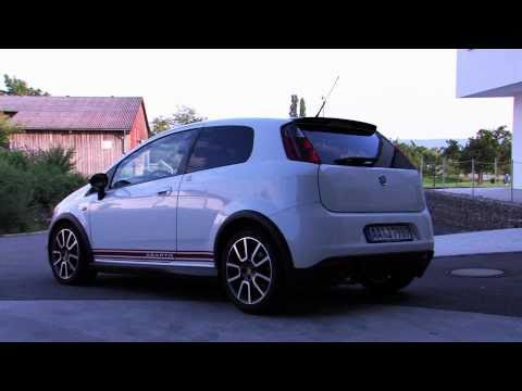 Driving the Abarth Grande Punto (Full HD)
