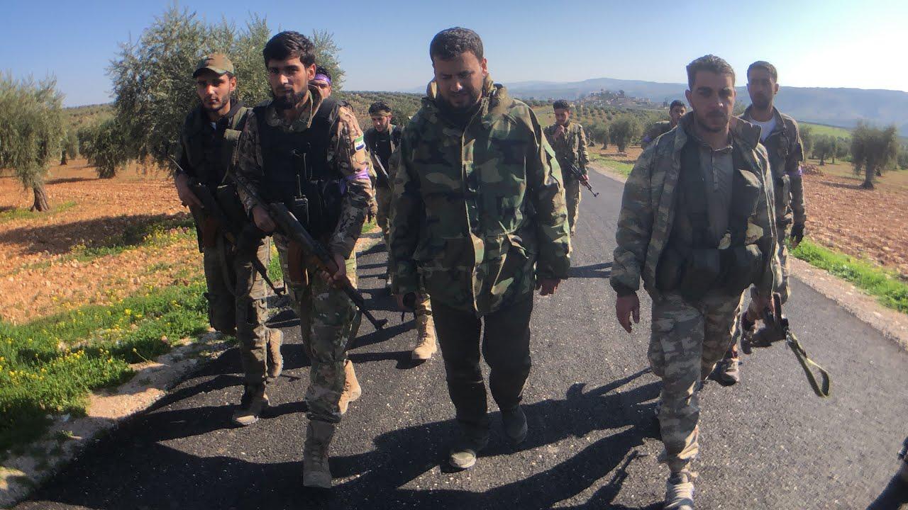 Savaş Muhabiri İrfan Sapmaz Suriye'de Zeytin Dalı Operasyonunu izliyor(2)Kocakarkin köyü.58.Gün