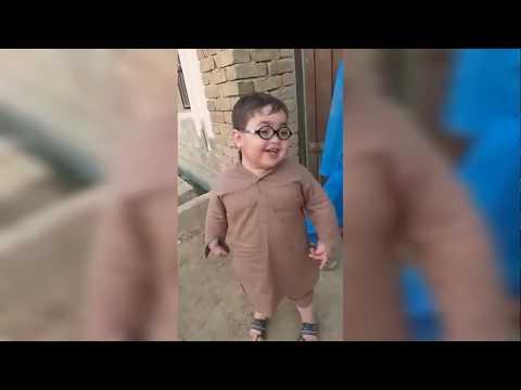 Cute Pathan Ka Bacha Ahmad Shah 2 | Comedy | Vishal Singh Rajput