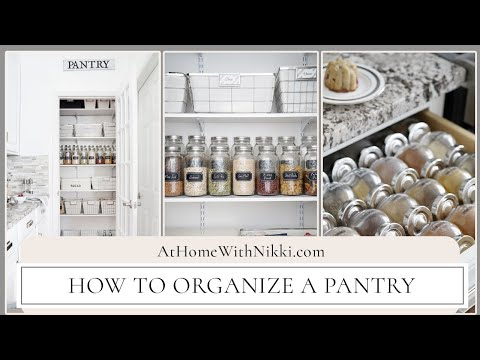 TIPS | Organizing a Pantry