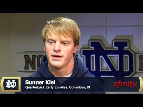 Gunner Kiel Early Enrollee Interview - Feb. 1, 2012