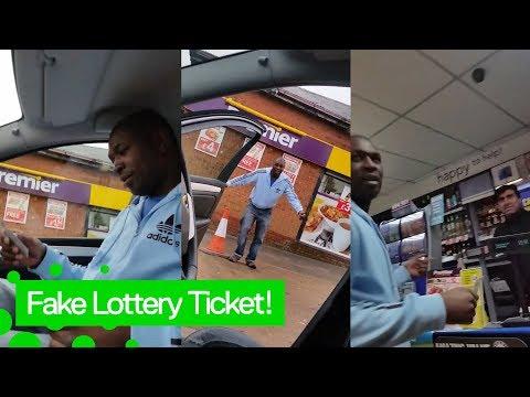 FAKE LOTTERY TICKET PRANK! $250,000 (BEST REACTION!)