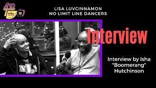 Ep 63: Interview with Lisa LuvCinnamon - No Limit Express Line Dancers - Baltimore MD